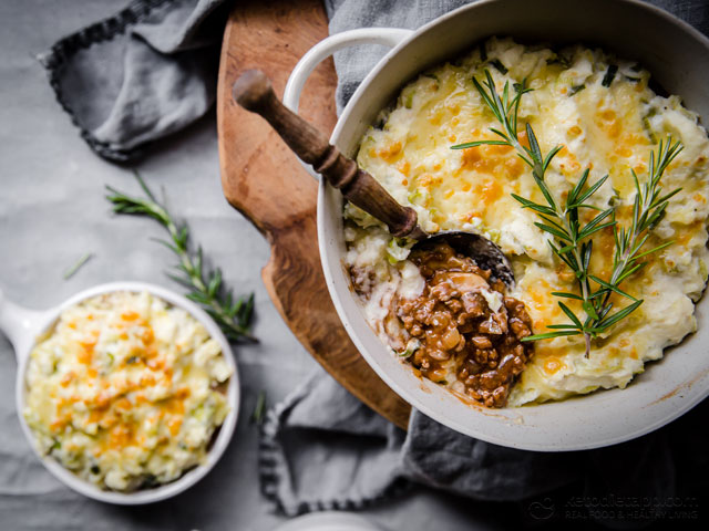 Low-Carb Irish Shepherd's Pie