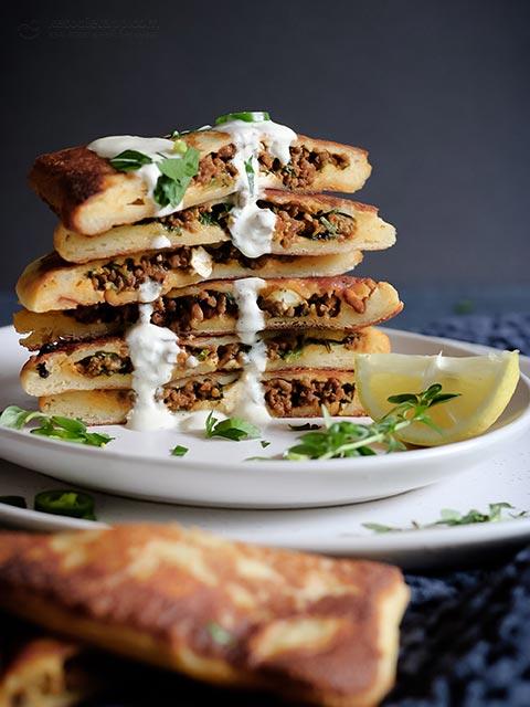 Keto Turkish Beef Gozleme