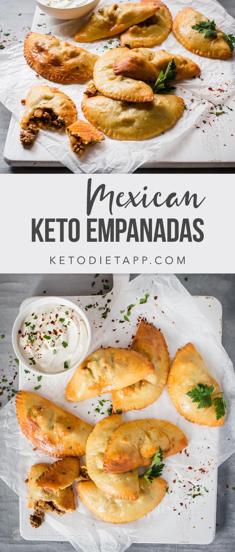 Mexican Keto Empanadas