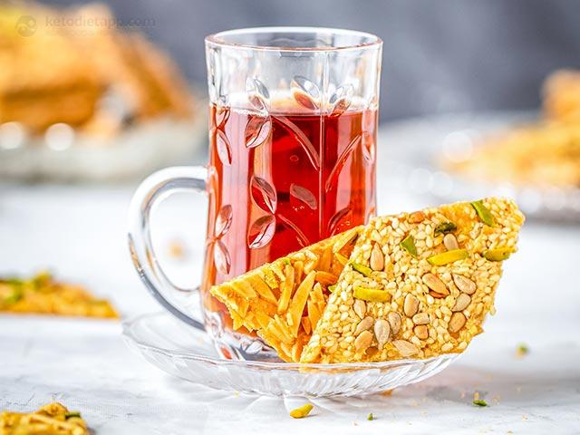 Persian Sohan Asali Keto Caramels