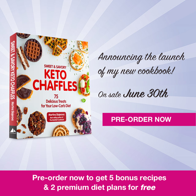 Announcing my New Keto Chaffles Cookbook