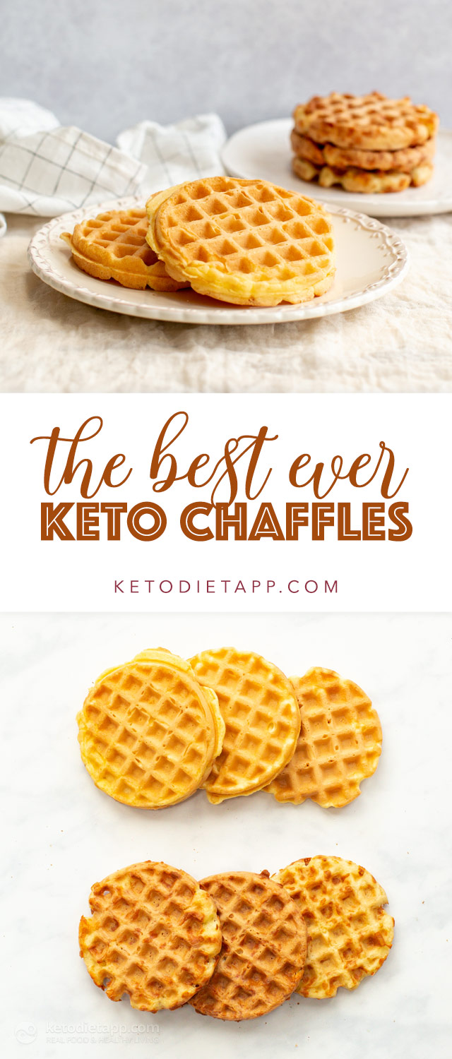 The Best Ever Keto Chaffles