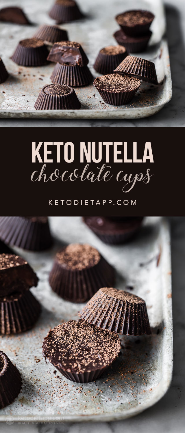 Keto Chocolate Nutella Cups