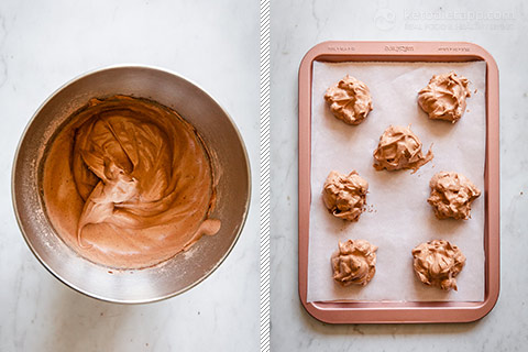 Low-Carb Chocolate Meringues