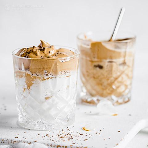 Sugar-Free Dalgona Coffee