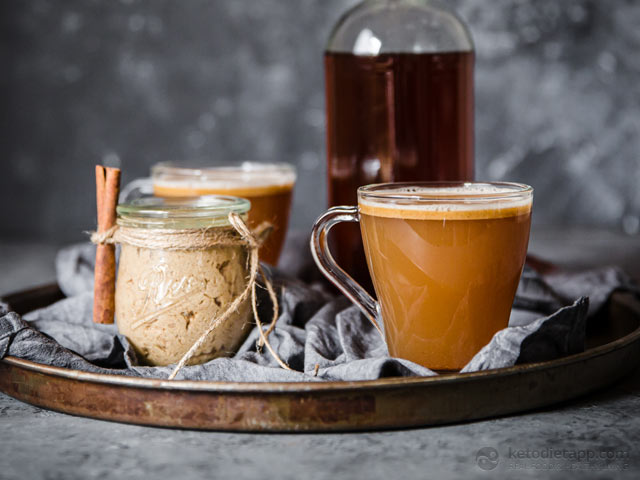 Low-Carb Hot Buttered Rum Mix