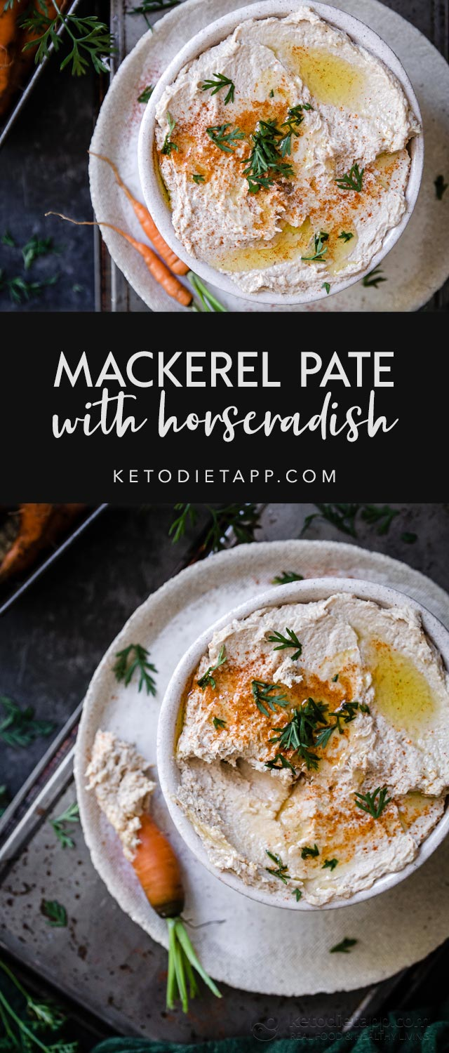 Easy Mackerel Pate with Horseradish