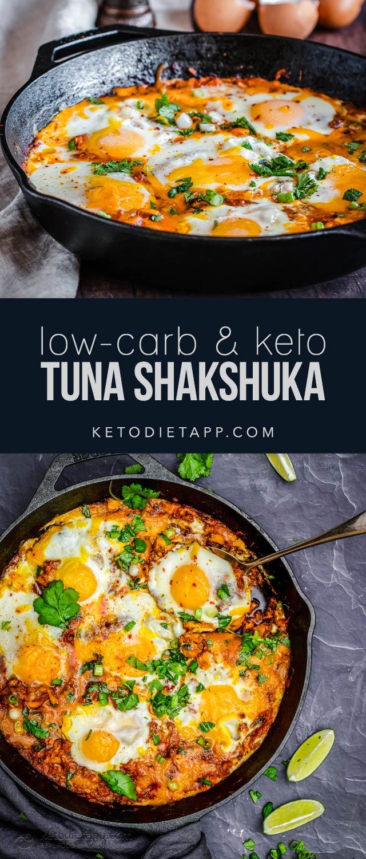 Low-Carb Tuna Shakshuka