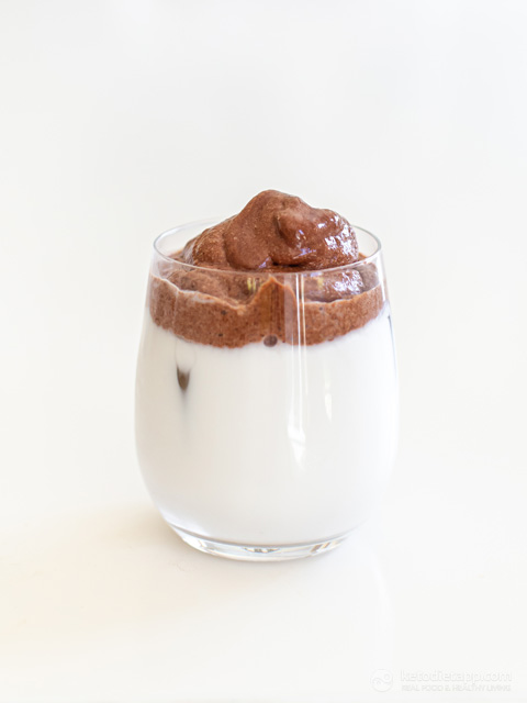 Low-Carb Dalgona Chocolate Milk