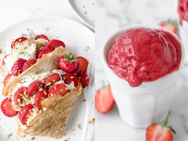 45 Low-Carb Recipes with Strawberries - What to Make with Strawberries