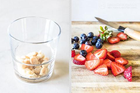 Red, White & Blue Berry Cream Jars