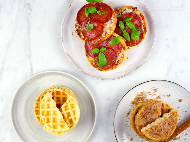 The Best Keto Chaffles 3 Ways