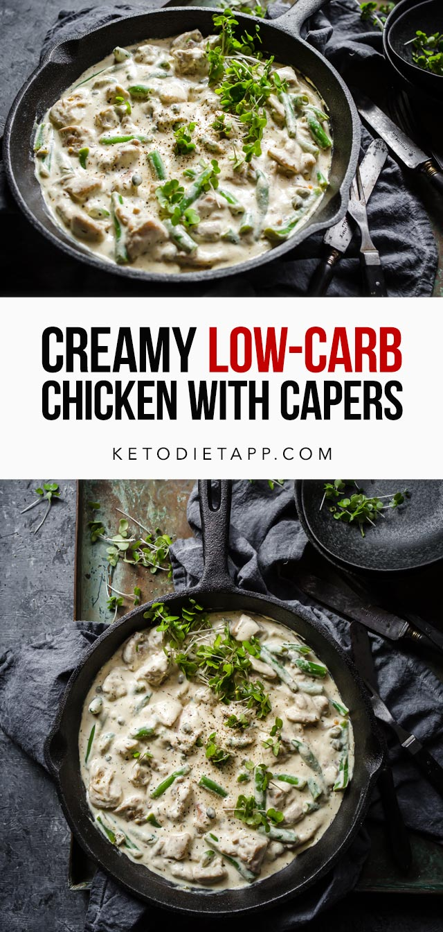 Creamy Low-Carb Chicken with Capers