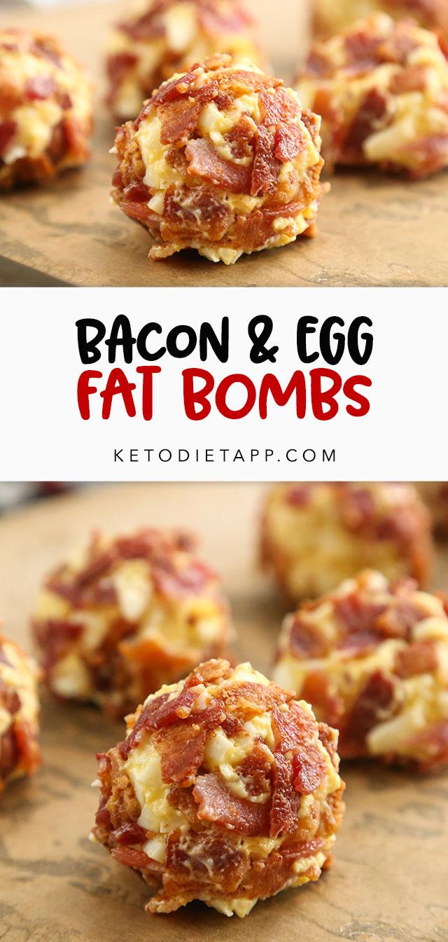 Bacon & Egg Fat Bombs