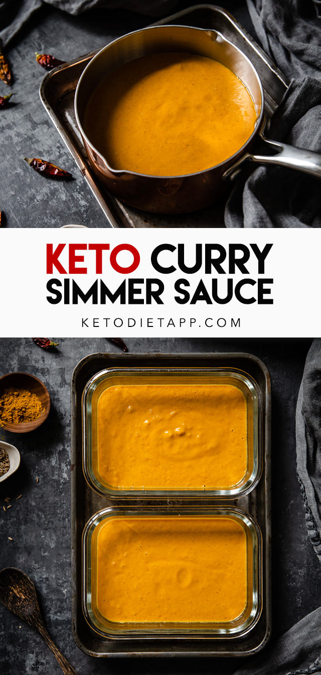 Low-Carb Curry Simmer Sauce