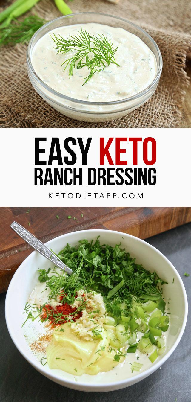 Easy Keto Ranch Dressing