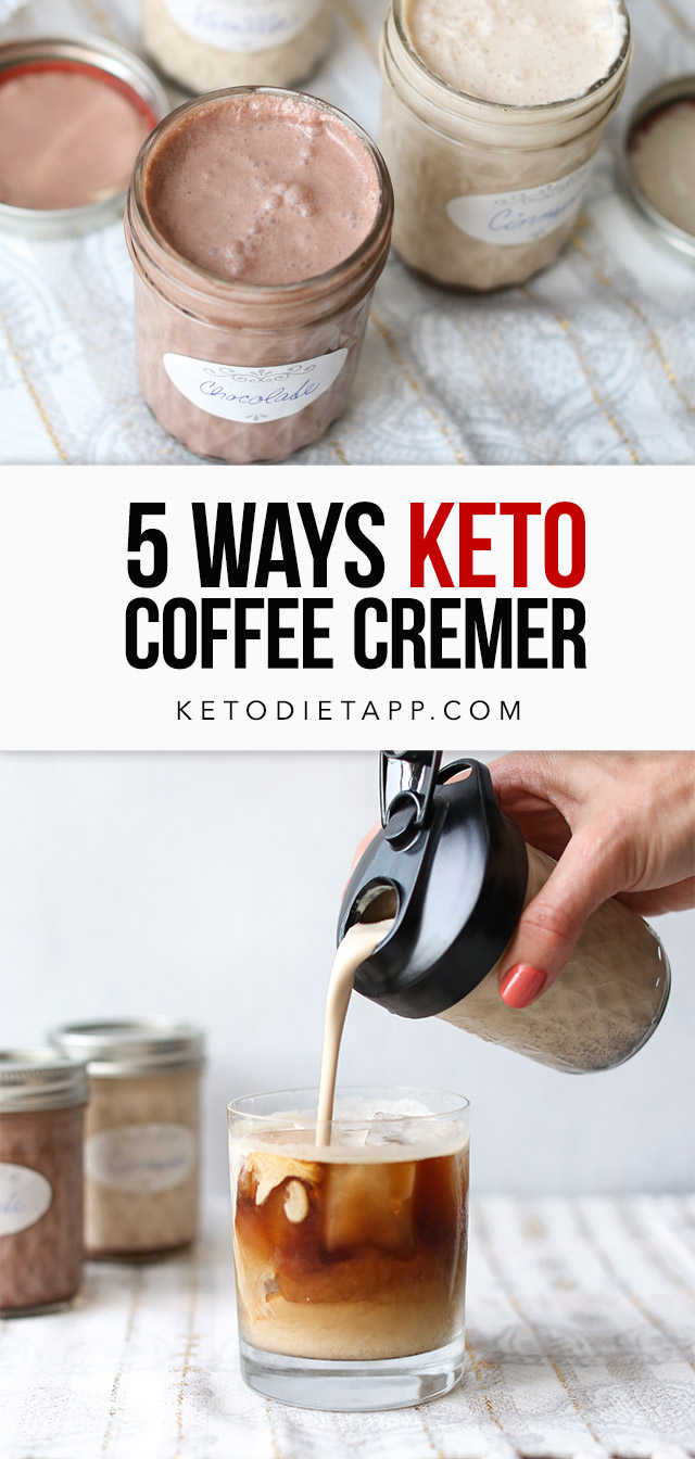 Low-Carb & Keto Coffee Creamer Five Ways