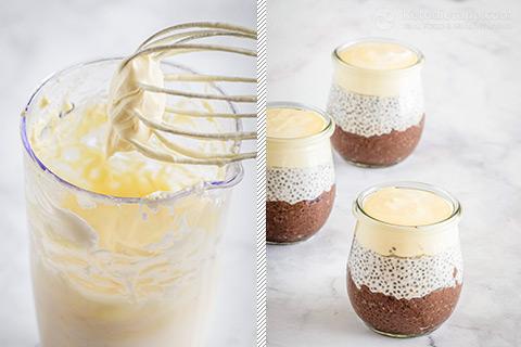 Keto Tiramisu Chia Pudding