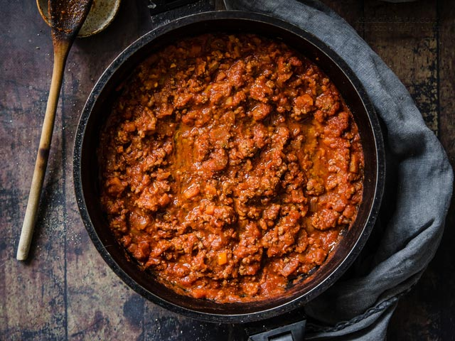 Easy Low-Carb Bolognese Sauce