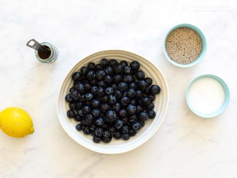 Low-Carb Blueberry Chia Jam