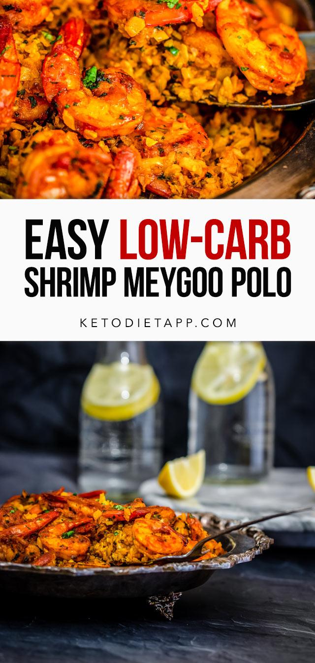 Low-Carb Shrimp Meygoo Polo
