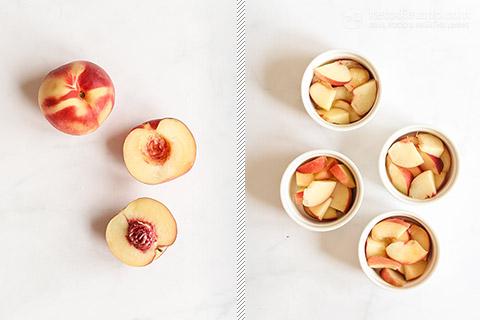 Low-Carb Single Serve Peach Cobbler
