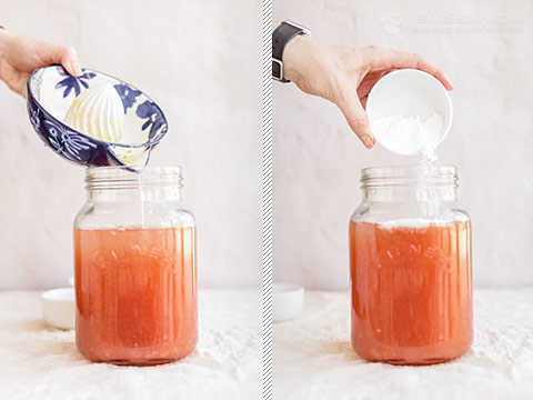 Keto Strawberry & Lime Electrolyte Drink
