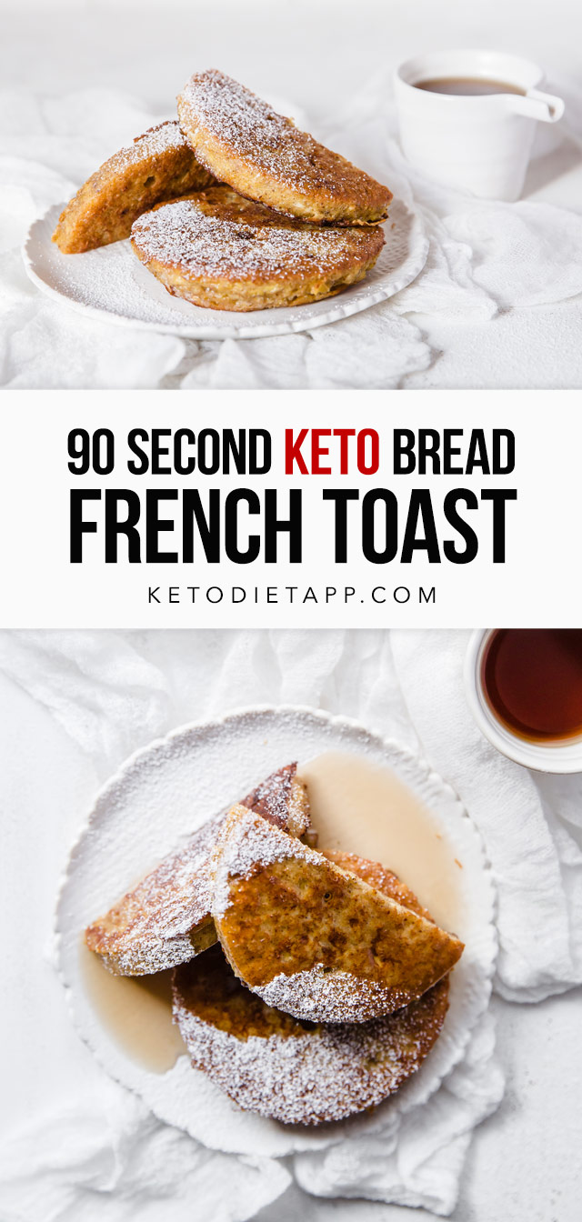 90 Second Keto Bread French Toast