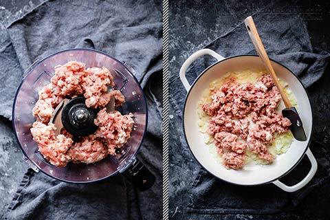 Low-Carb Pork & Sage Pot Pie