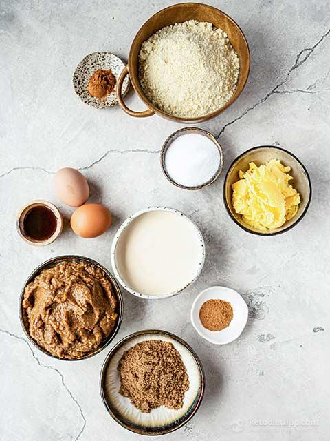 Low-Carb Cinnamon Apple Butter Pie