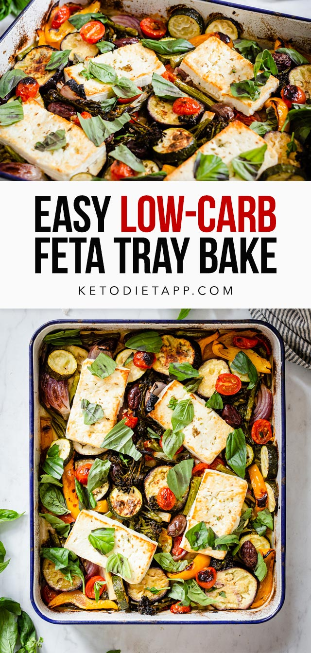 Easy Low-Carb Feta Tray Bake