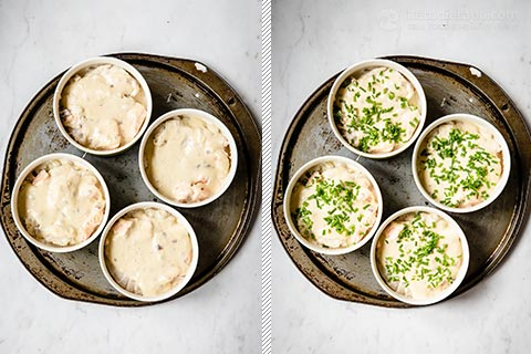 Low-Carb Individual Fish Pies