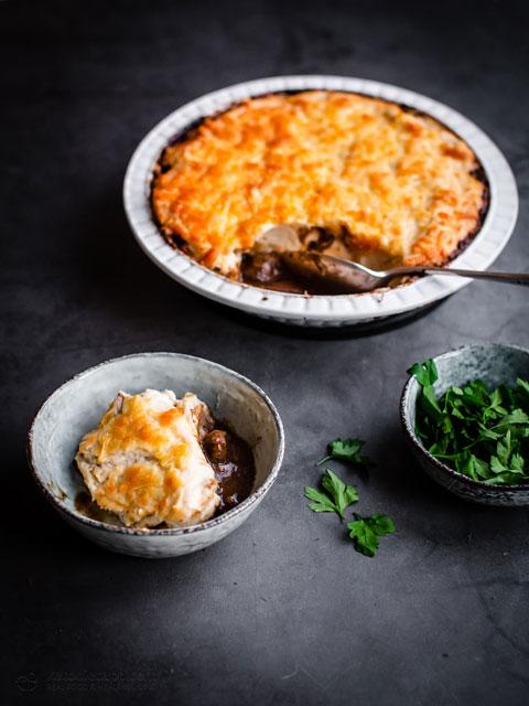 Low-Carb Chicken Liver Shepherd's Pie