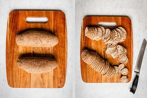 Keto Crostini Bread Crisps