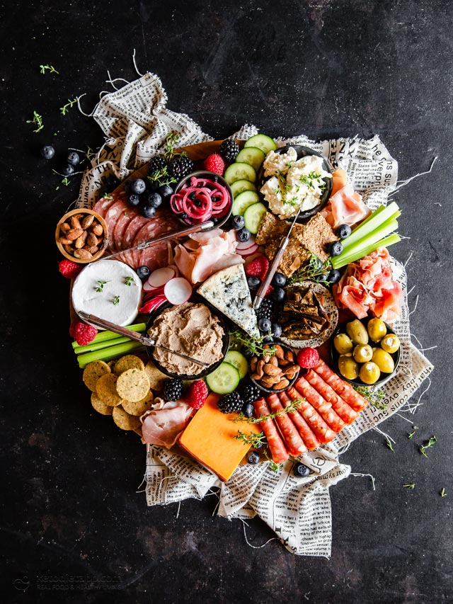 The Ultimate Keto Charcuterie Board