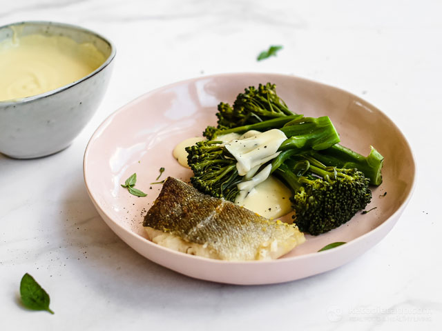 Crispy Cod With Broccoli Keto Cheese Sauce Ketodiet Blog