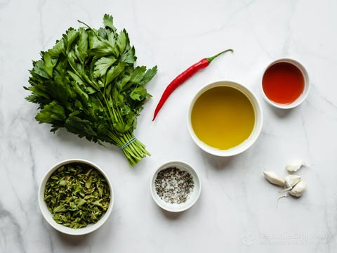 Easy Keto Chimichurri Sauce