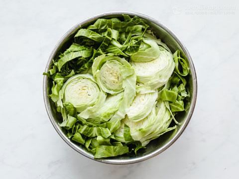 Easy Keto Cabbage Noodles