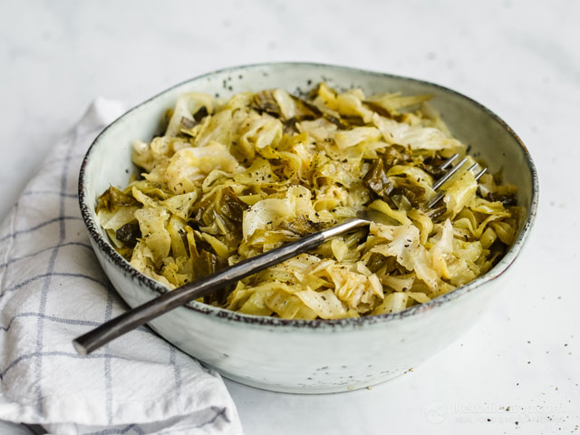 Easy Keto Cabbage Noodles
