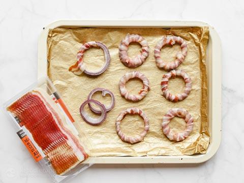 Easy Keto Bacon Onion Rings