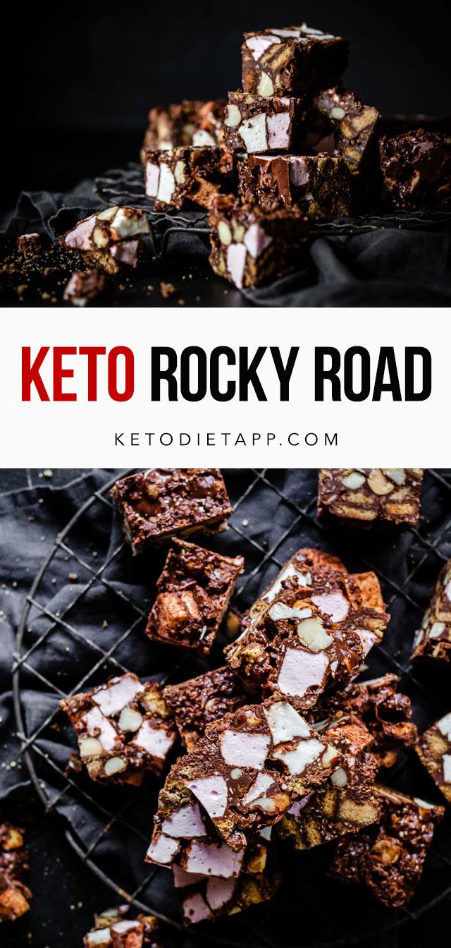 Keto Rocky Road