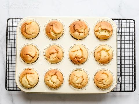 Keto Vanilla Blender Muffins