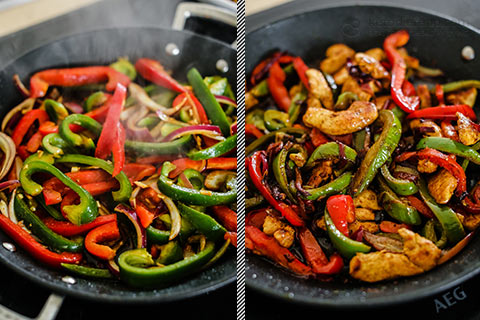 Low-Carb Chicken Fajita Bowls