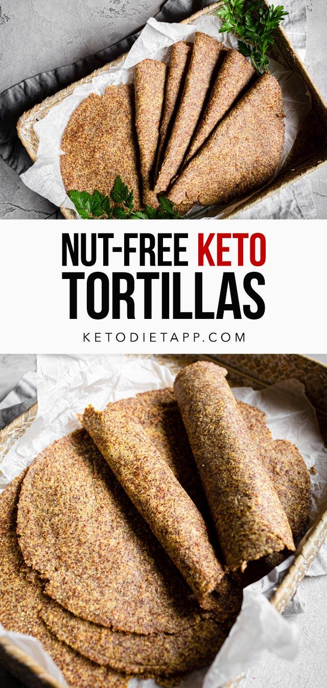 Nut-Free Keto Tortillas