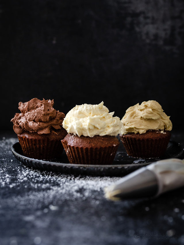 Silky Smooth Keto Buttercream Frosting 4 Ways