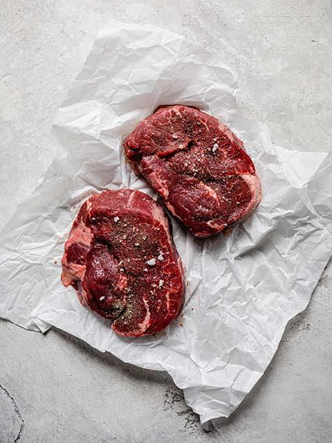 Keto Steak Dinner For Two