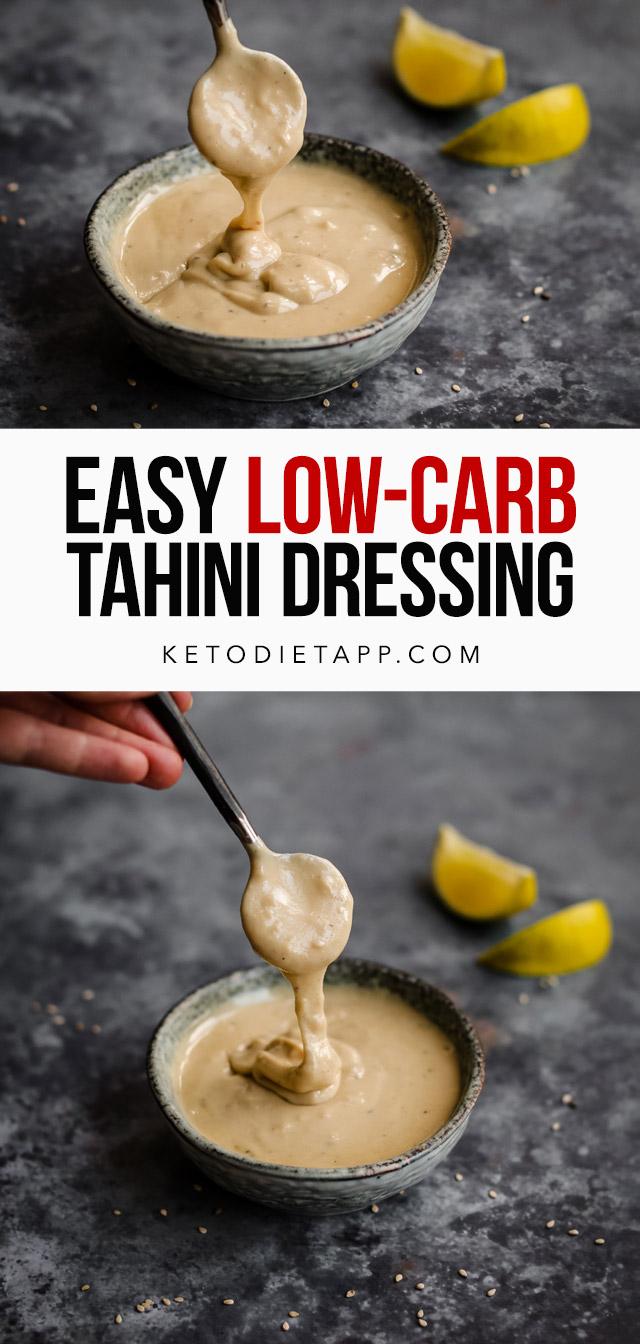 Easy Keto Tahini Dressing