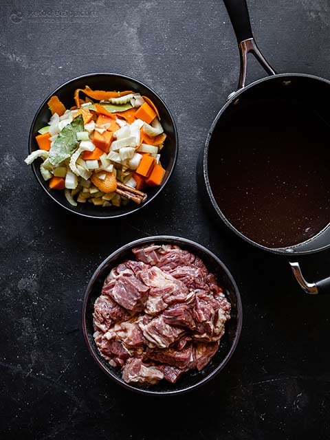 Low-Carb Braised Beef With Rum & Fennel
