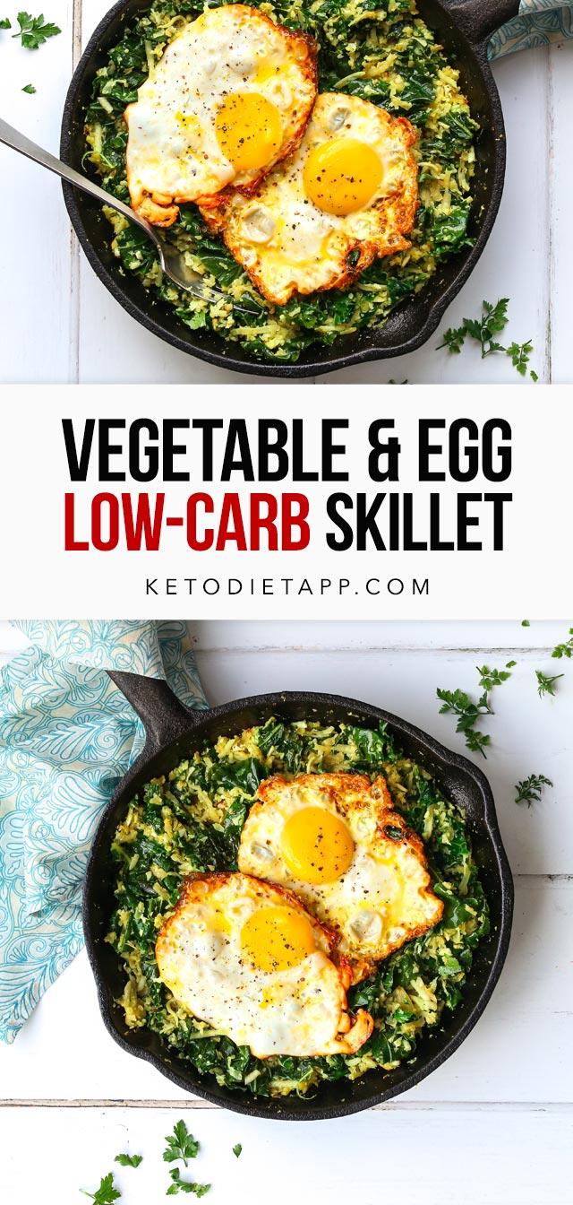 Easy Keto Egg & Vegetable Skillet