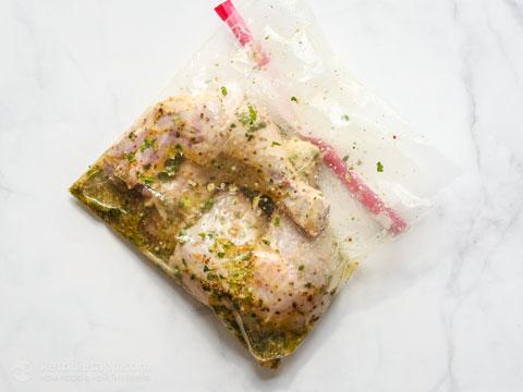 Marinated Keto Air Fryer Chicken